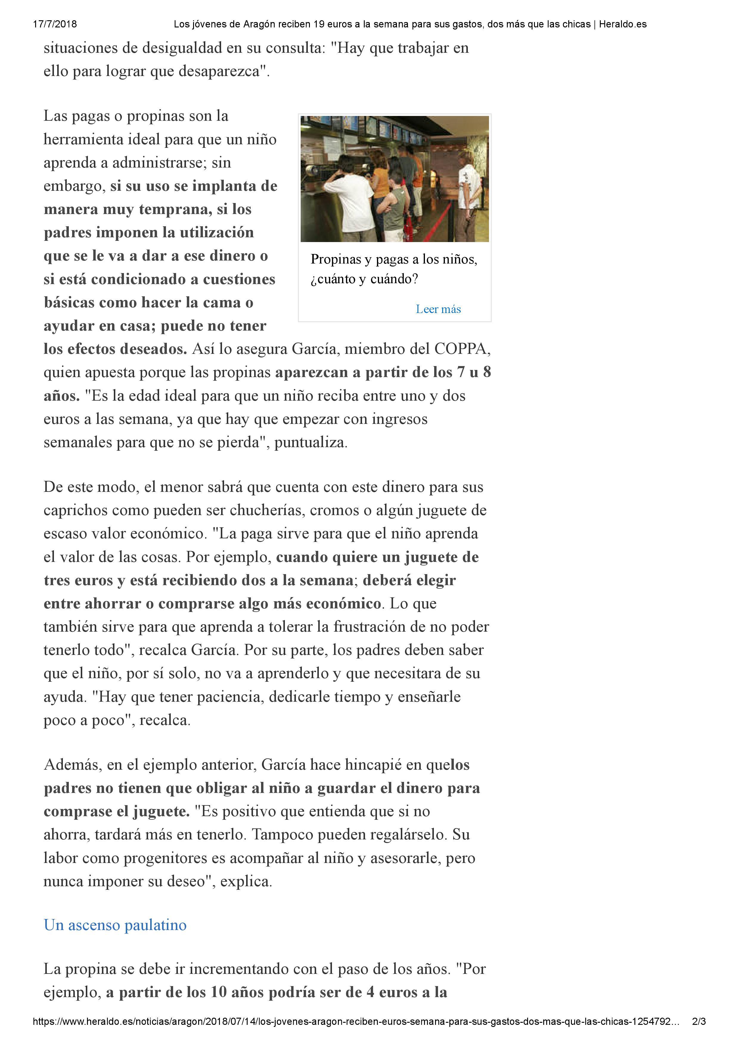 Alejandra Garcia Heraldo de Aragon