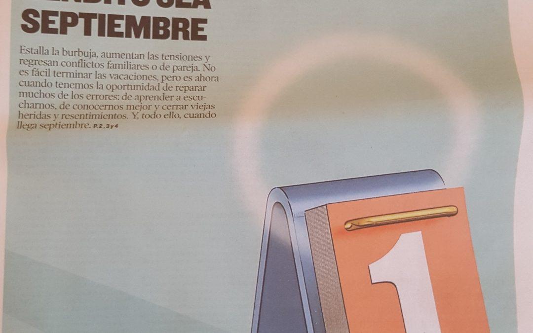 Bendito sea septiembre – Entrevista en Heraldo de Aragón