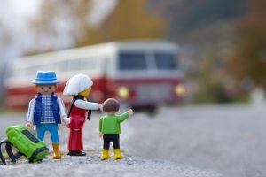 Familia en muñecos Click de Playmobil
