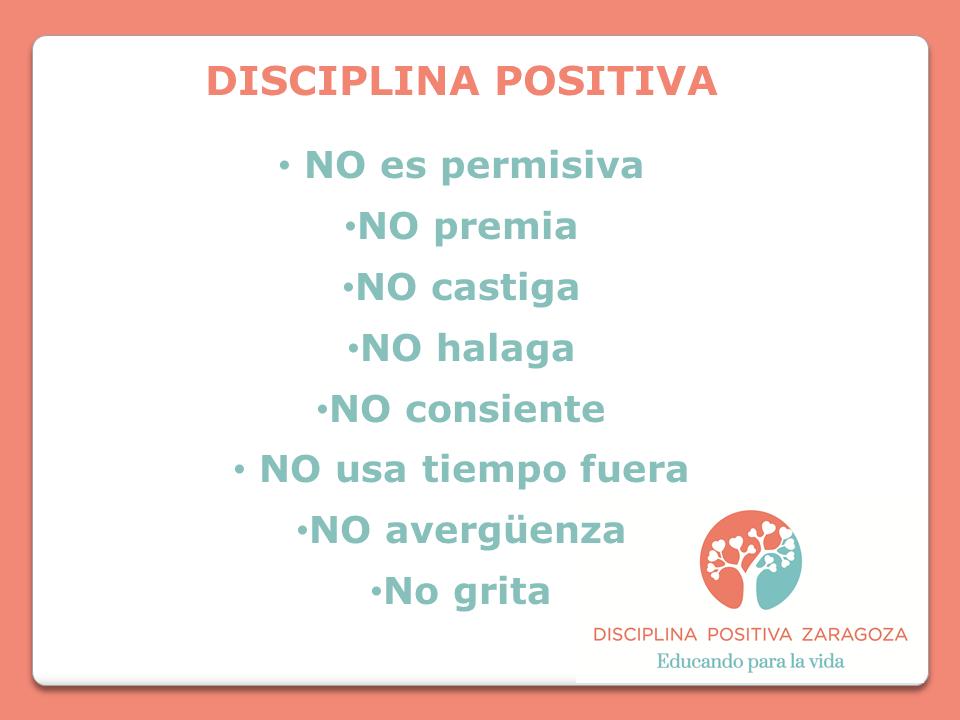 qué no es disciplina positiva zaragoza